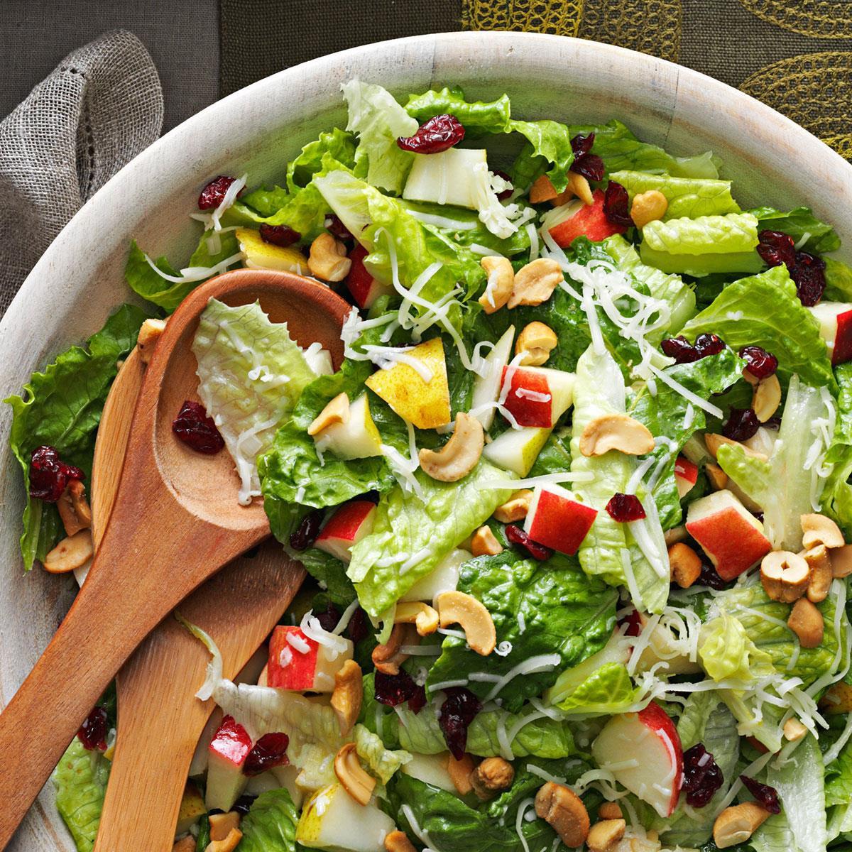 Holiday Salads Thanksgiving  Holiday Lettuce Salad Recipe