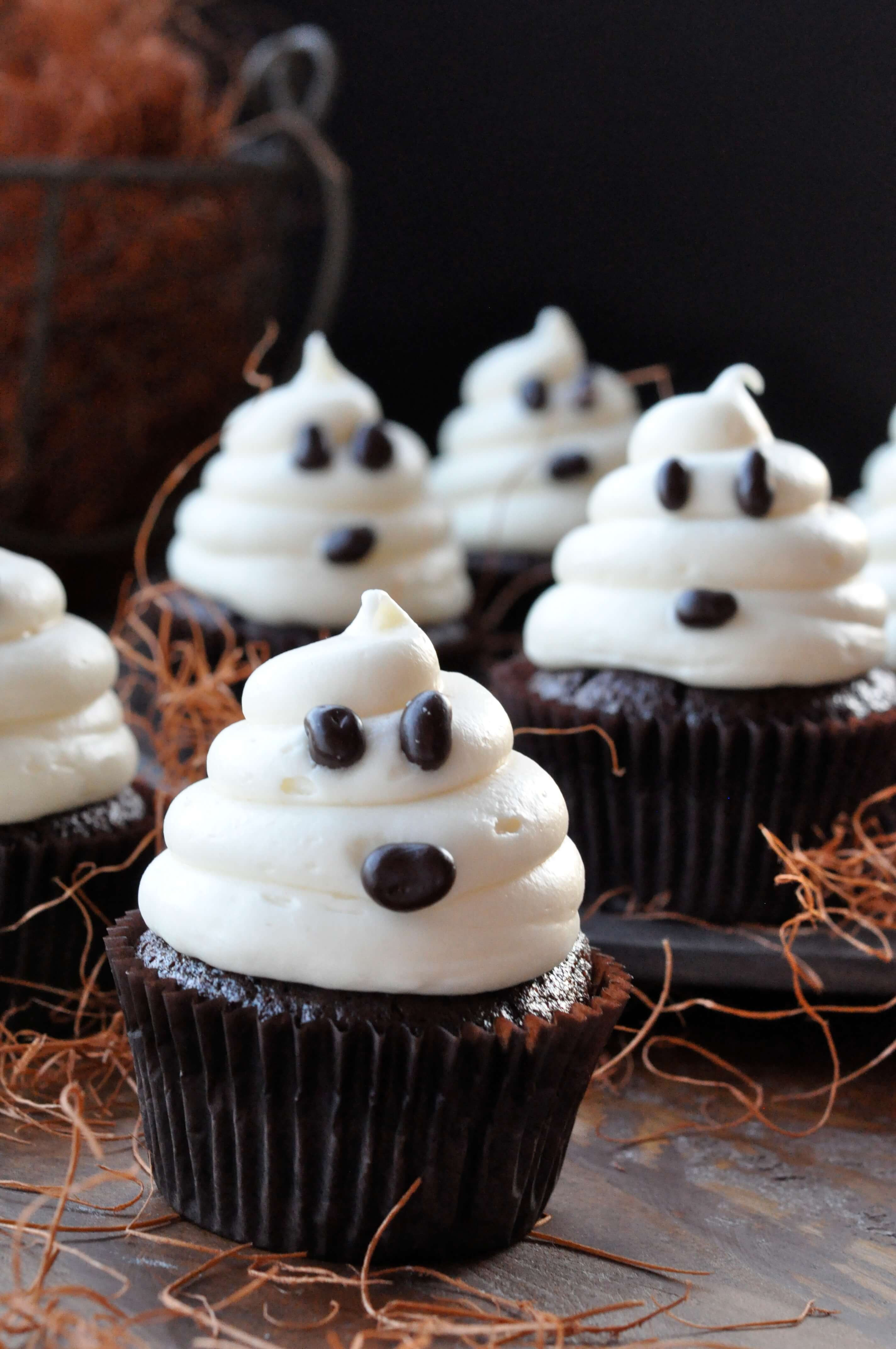 Homemade Halloween Cakes  Halloween Ghosts on Carrot Cake Recipe—Fast and Easy