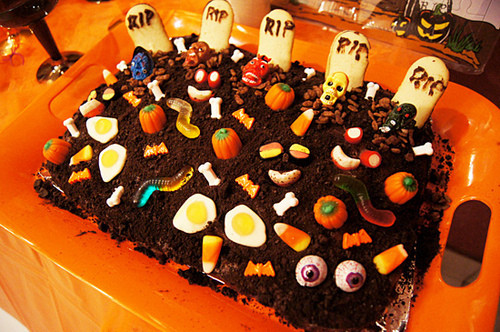 Homemade Halloween Cakes  Halloween party food