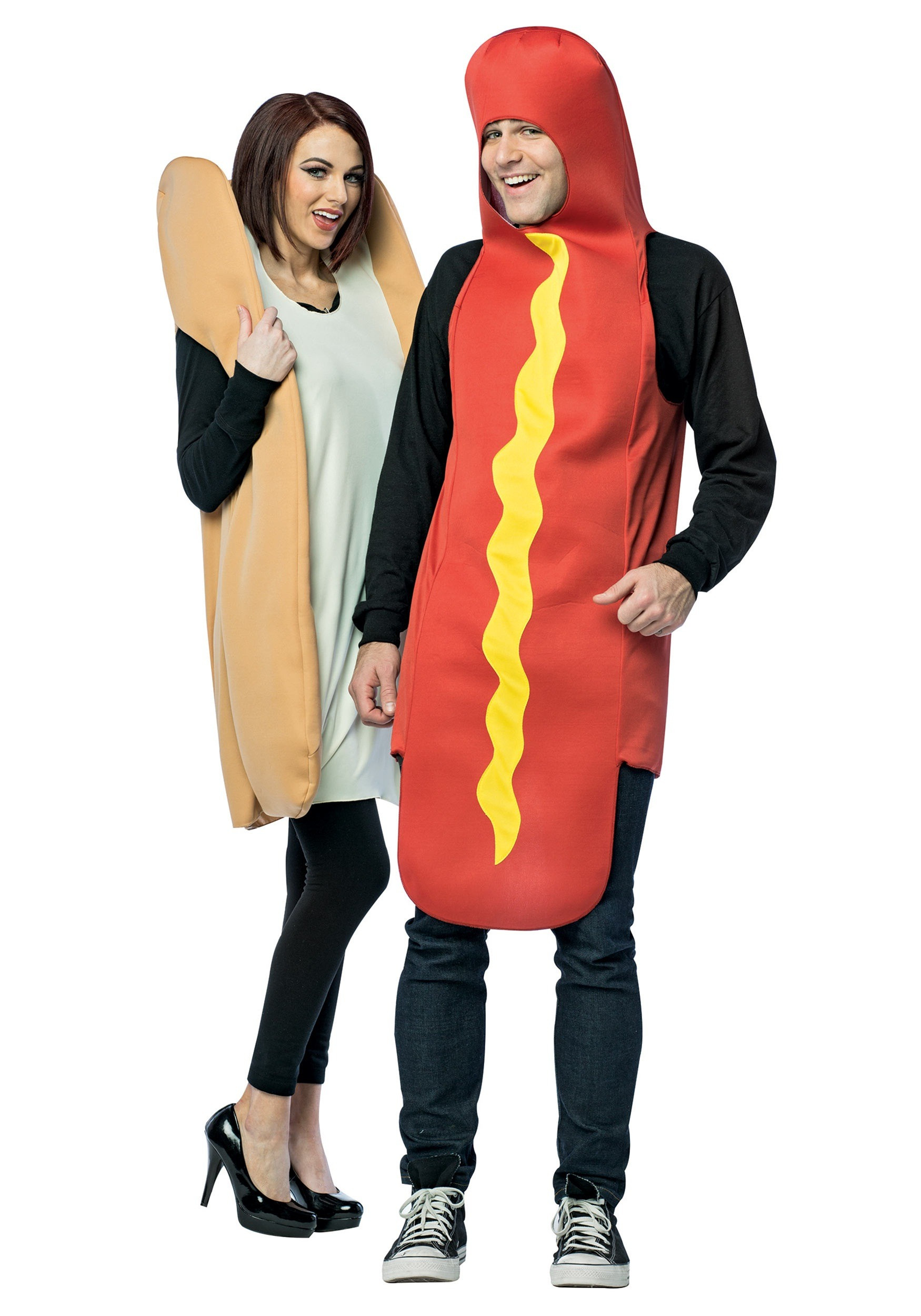 Hot Dog Halloween Costume For Dogs  Hot Dog and Bun Costume