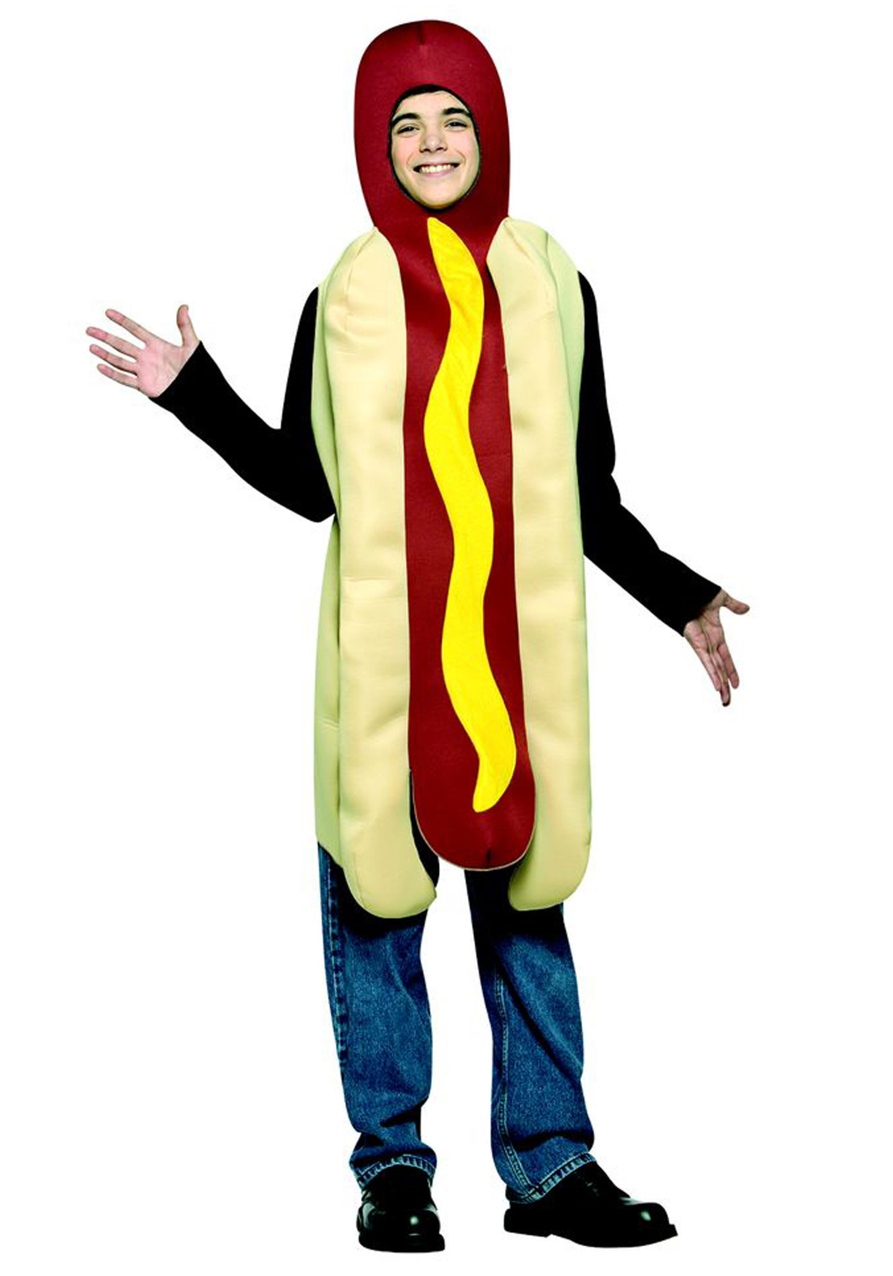 Hot Dog Halloween Costume For Dogs  Teen Hot Dog Costume