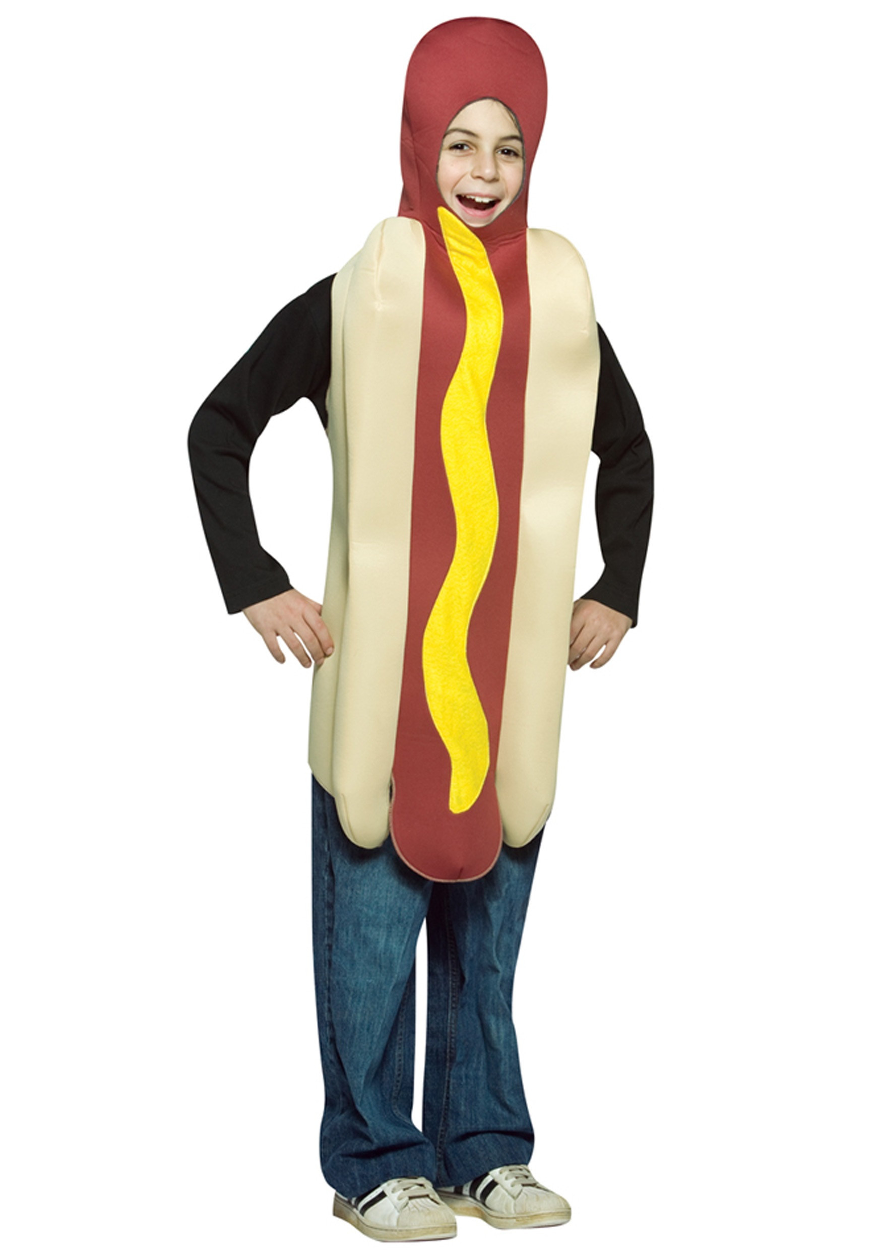 Hot Dog Halloween Costume For Dogs  Kids Hot Dog Costume