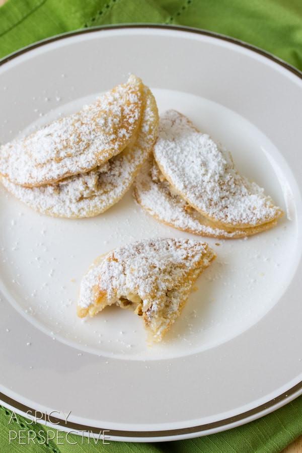 Hungarian Christmas Cookies  Quickie Kifli Cookies Easy Sugar Cookie Recipe