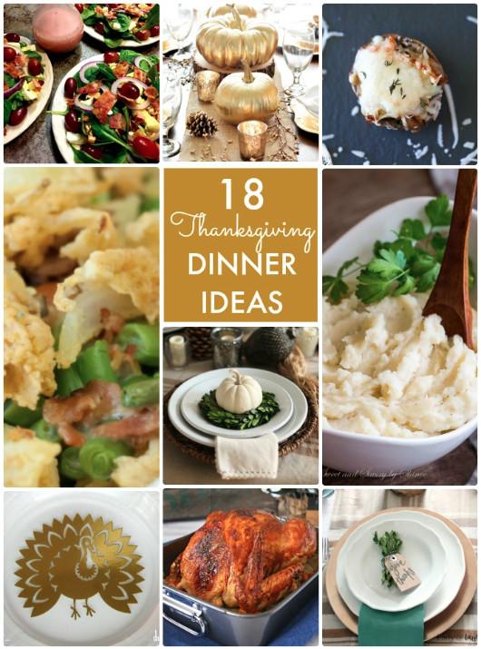 Ideas For Thanksgiving Dinner  Great Ideas Thanksgiving Dinner Ideas