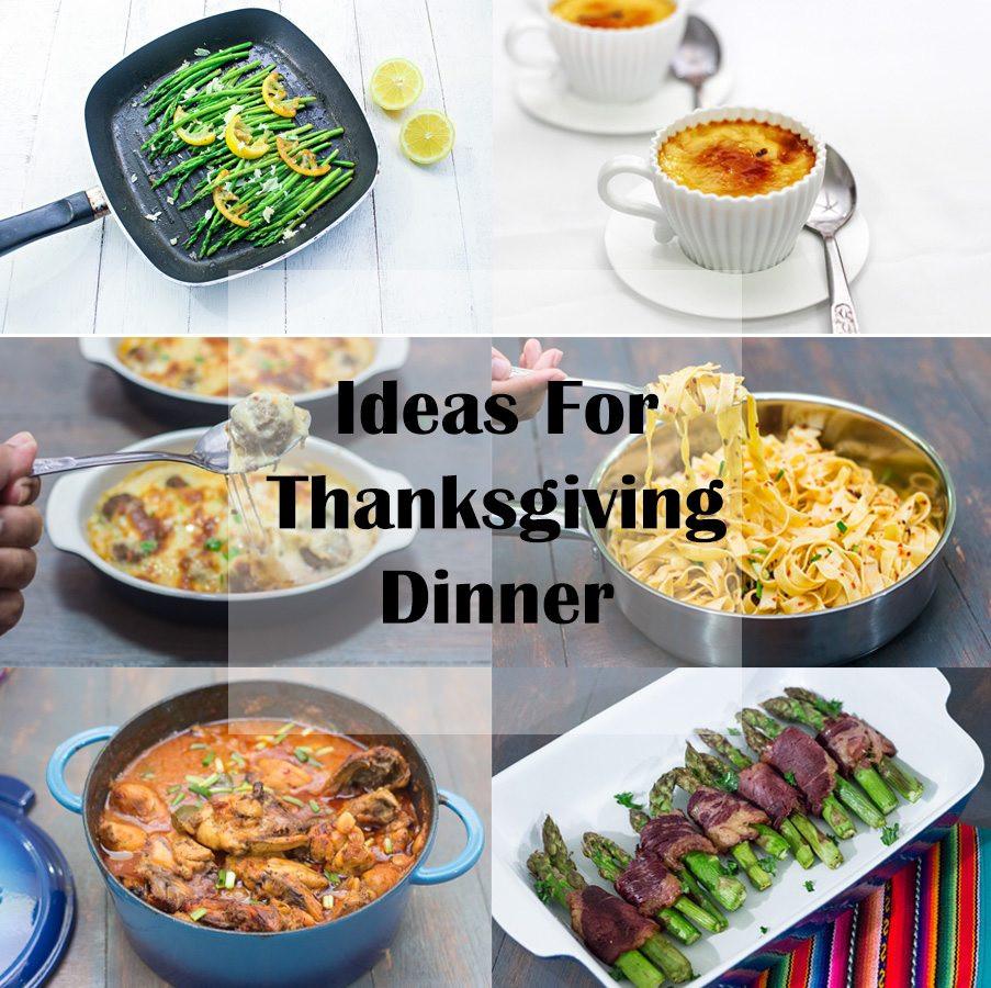 Ideas For Thanksgiving Dinner  Ideas for Thanksgiving Dinner Maya Kitchenette