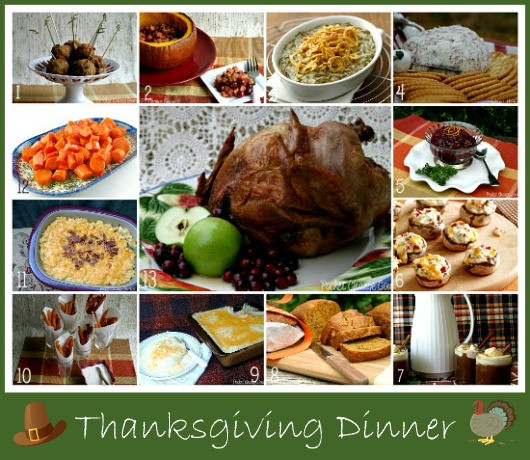 Ideas For Thanksgiving Dinner  Thanksgiving Dinner Recipes Recipe