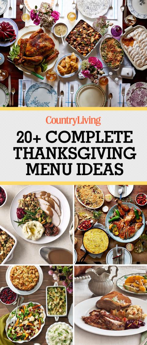 Ideas For Thanksgiving Dinner  28 Thanksgiving Menu Ideas Thanksgiving Dinner Menu Recipes