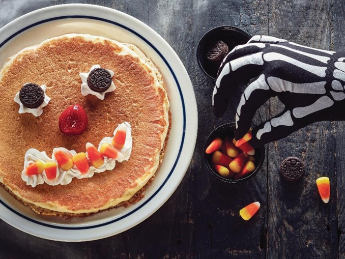 Ihop Halloween Free Pancakes 2019  Kids Get Free Scary Face Pancakes At IHOP October 31