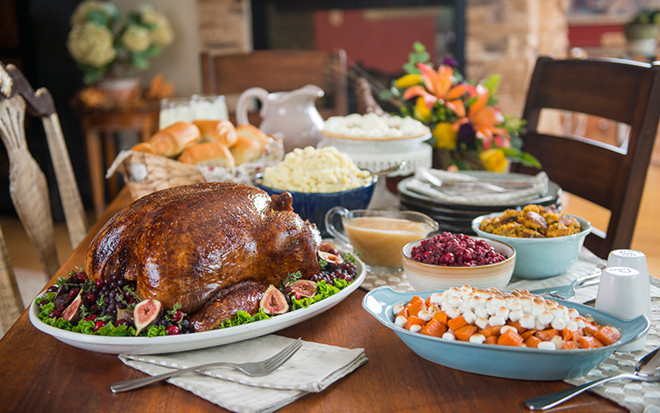 Images Of Thanksgiving Dinners  Traditional Turkey Dinner Medium