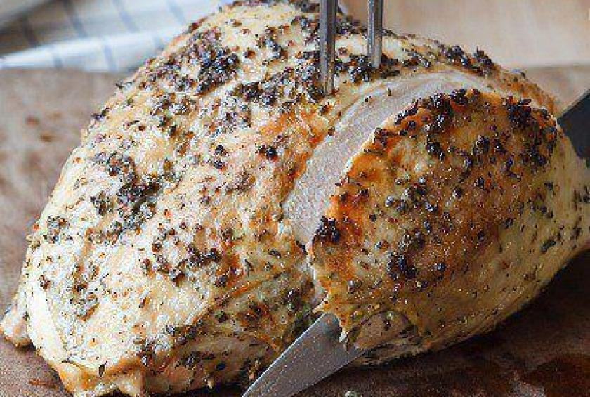Ina Garten Thanksgiving Turkey  The Barefoot Contessa s Herb Roasted Turkey Breast Recipe