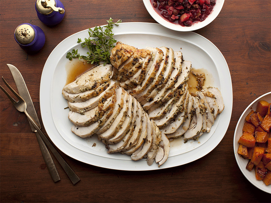 Ina Garten Thanksgiving Turkey  Ina Garten's Easy Dinner Party Menu