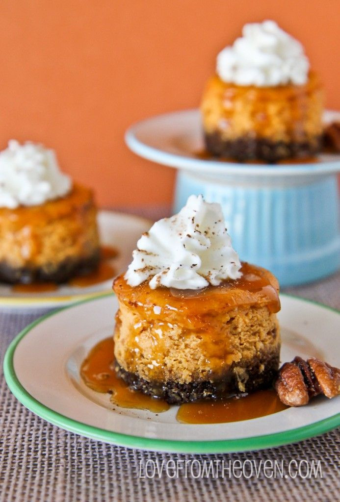 Individual Thanksgiving Desserts  398 best images about Cream Cheese Desserts on Pinterest
