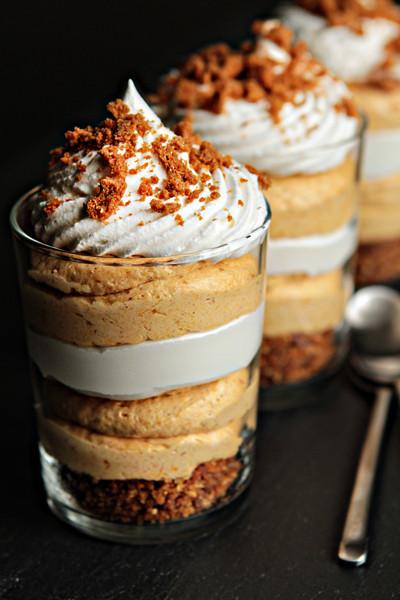 Individual Thanksgiving Desserts  Simple Pumpkin Cheesecake Trifles