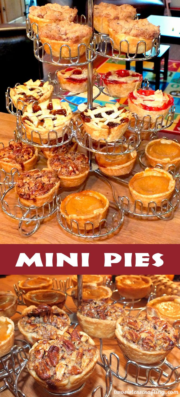 Individual Thanksgiving Desserts  Best 25 Mini pies ideas on Pinterest