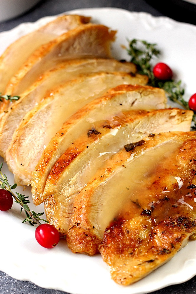 Instant Pot Thanksgiving Recipes  Instant Pot Turkey Breast Recipe Crunchy Creamy Sweet