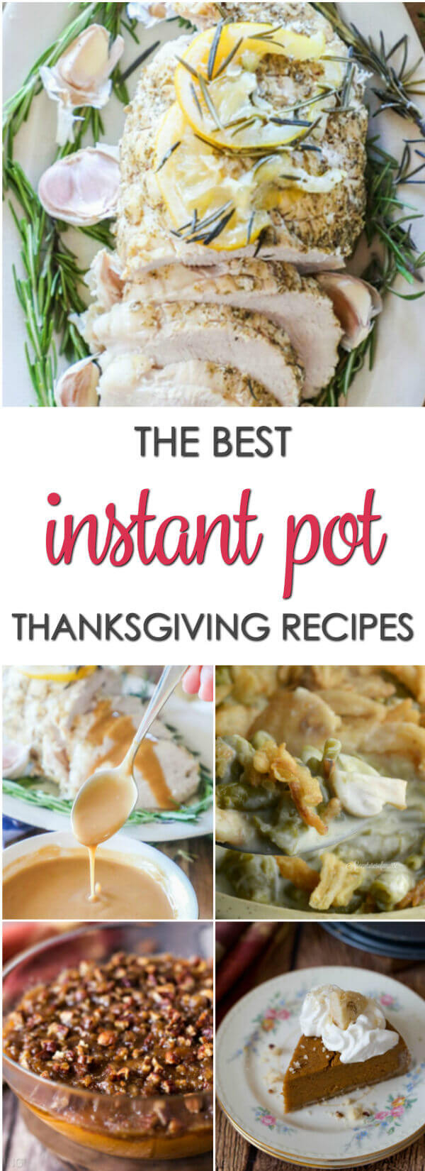 Instant Pot Thanksgiving Recipes  Easy Instant Pot Recipes for Thanksgiving