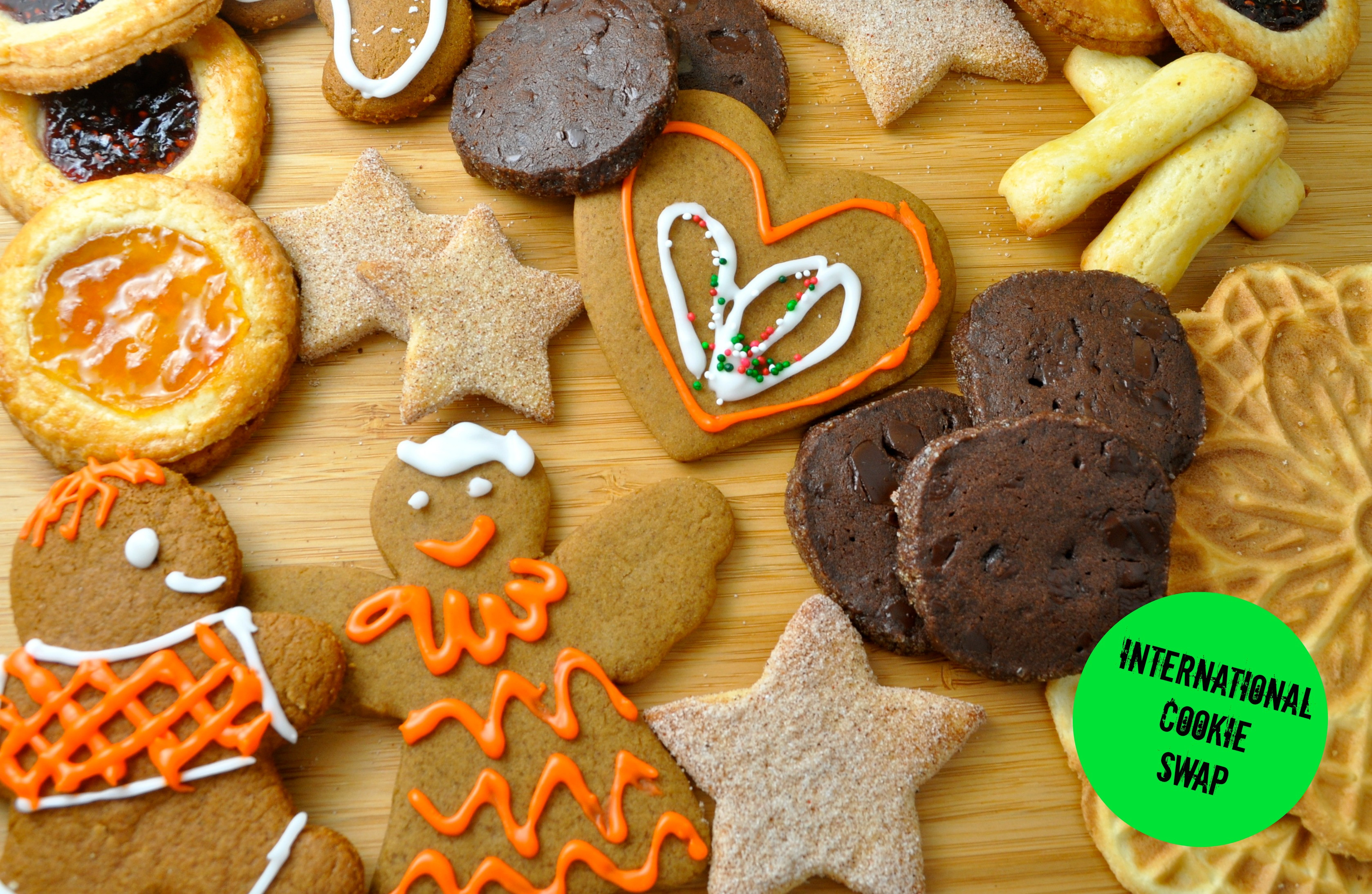 International Christmas Cookies  It's an International Holiday Cookie Party