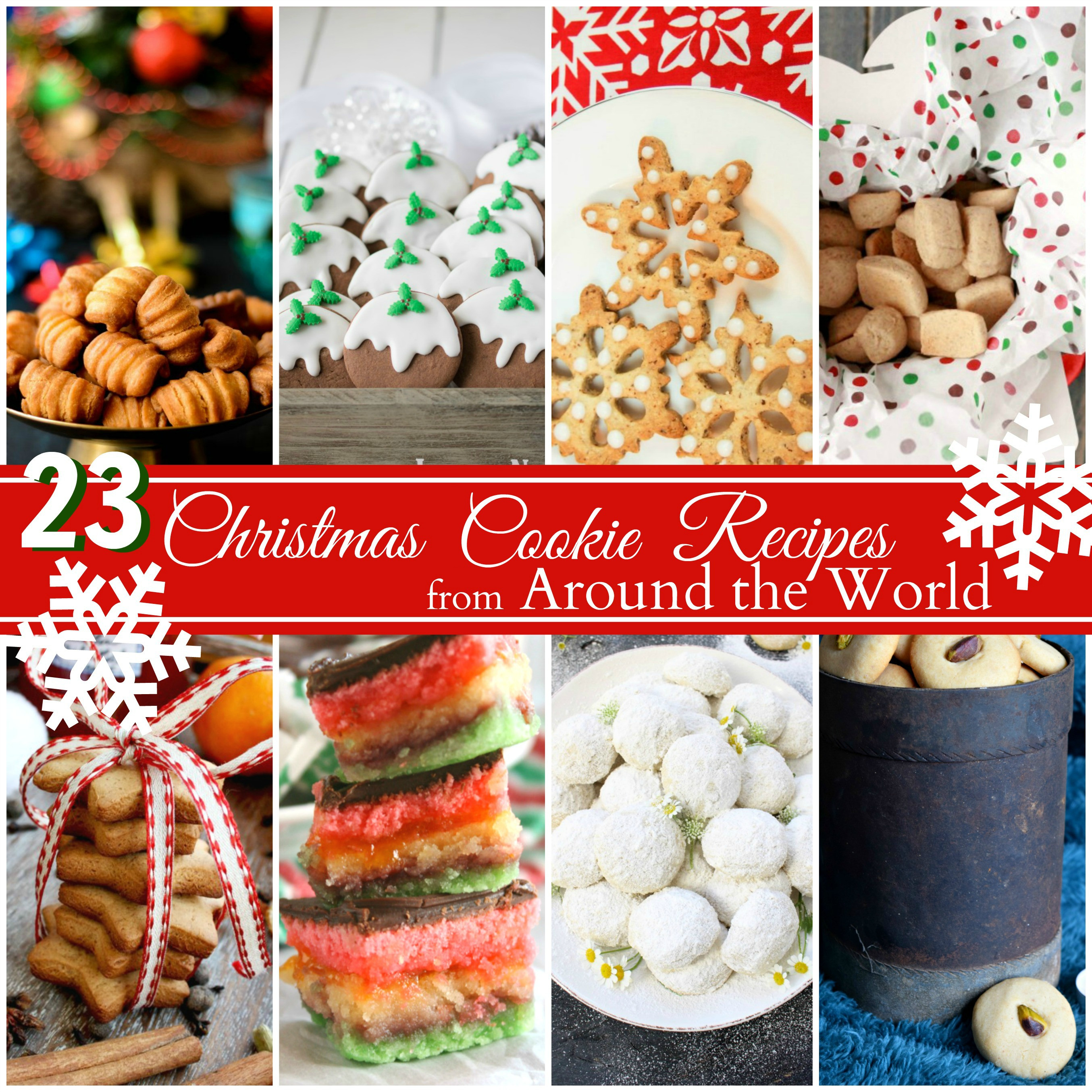 International Christmas Cookies  Christmas Cookie Recipes from Around the World