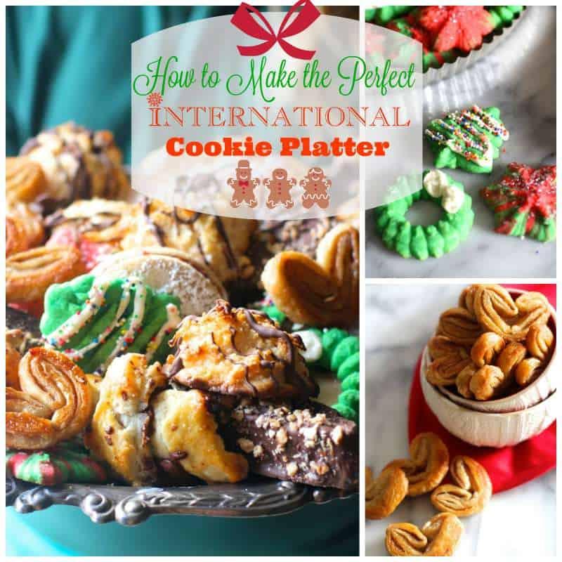 International Christmas Cookies  An International Christmas Cookie Platter The Seaside Baker
