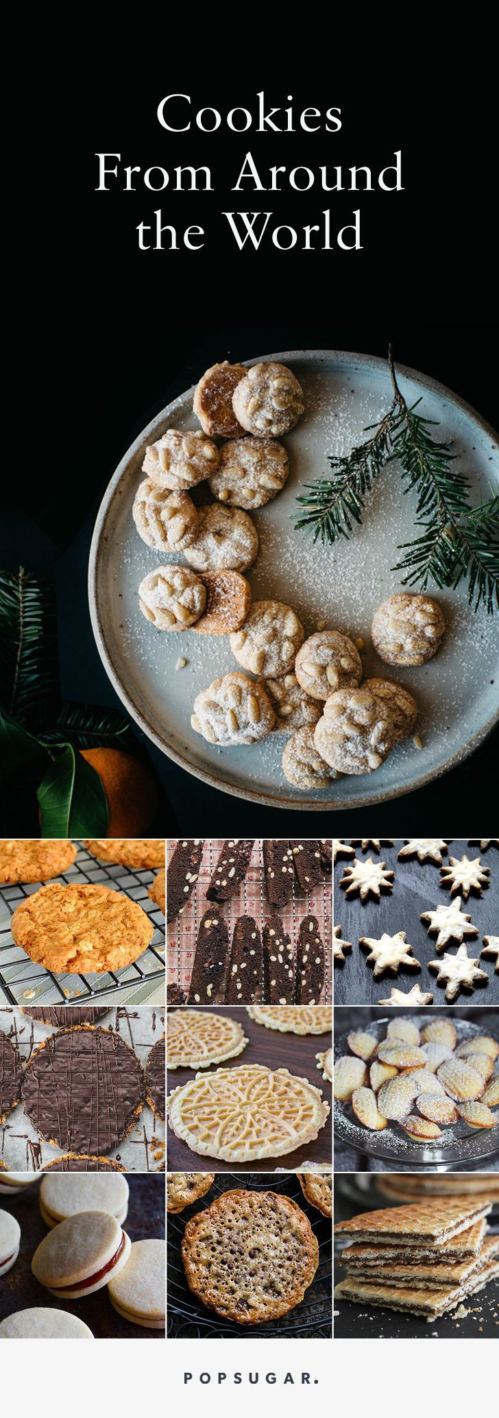 International Christmas Cookies  25 Cookies From Around the World