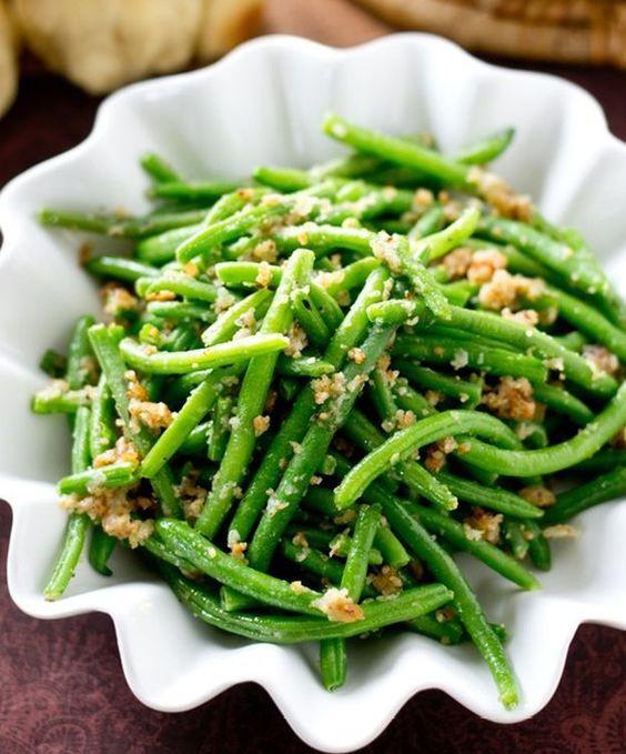 Italian Christmas Side Dishes  Italian green beans Christmas side dishes and Green beans