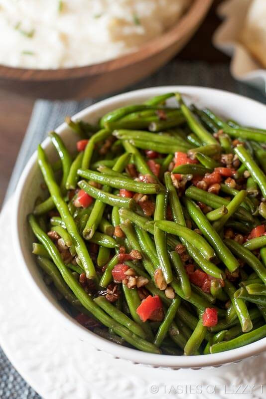 Italian Christmas Side Dishes  Italian Green Beans with Parmesan Cheese