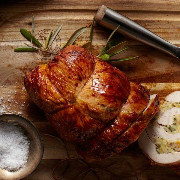 Jewel Thanksgiving Dinner  rolled stuffed turkey breast thanksgiving recipe jewels