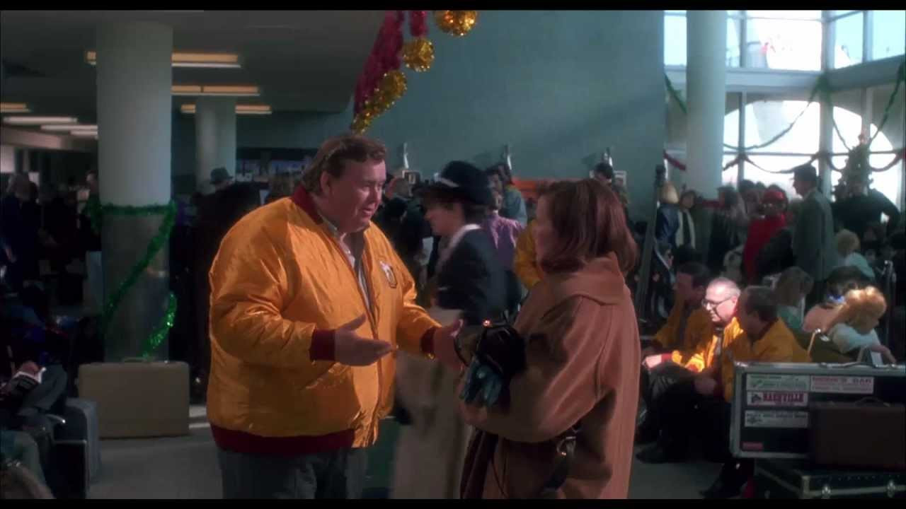 John Candy Christmas Movie  Home Alone Gus Polinski John Candy