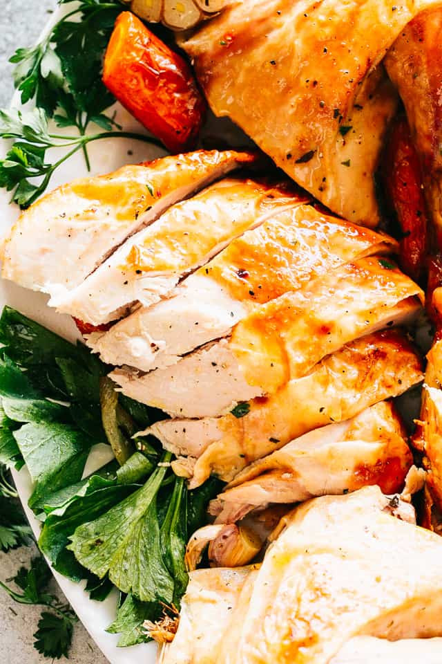 Juicy Thanksgiving Turkey Recipe  Juicy Roast Turkey Recipe with Maple Gravy