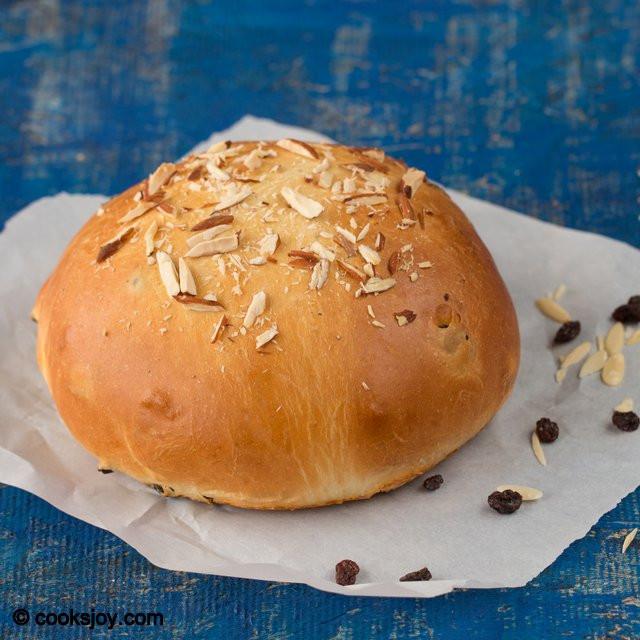 Julekake Norwegian Christmas Bread Recipe  Cooks Joy Julekake Julekaga Norwegian Cardamom