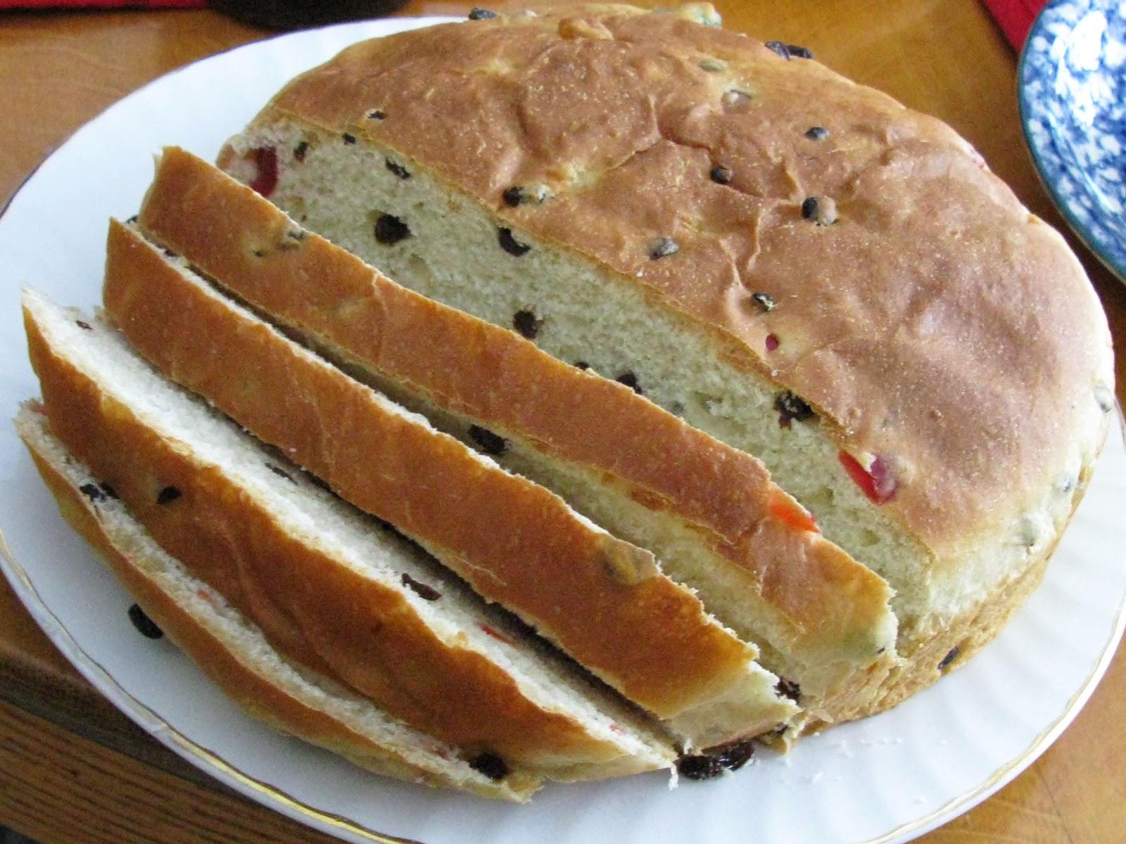 Julekake Norwegian Christmas Bread Recipe  Food for A Hungry Soul Julekake Norwegian Christmas Bread