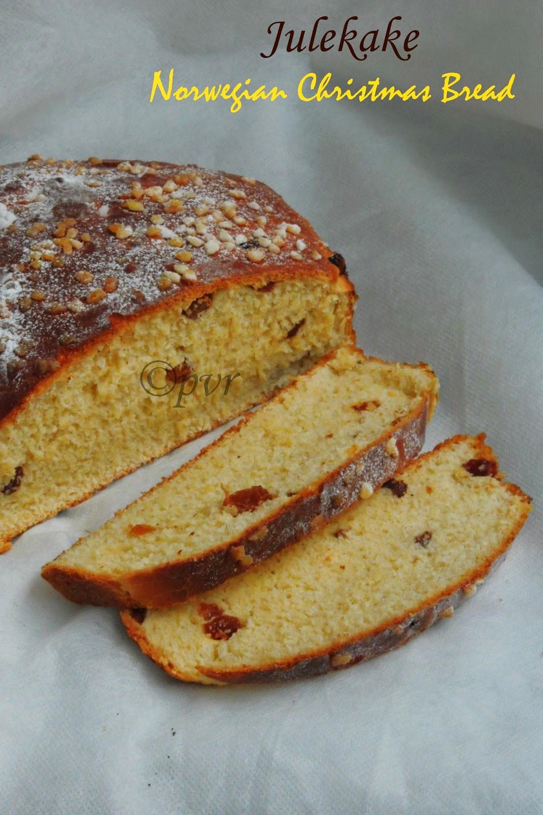 Julekake Norwegian Christmas Bread Recipe  Julekake A Norwegian Christmas Bread Indian Simmer