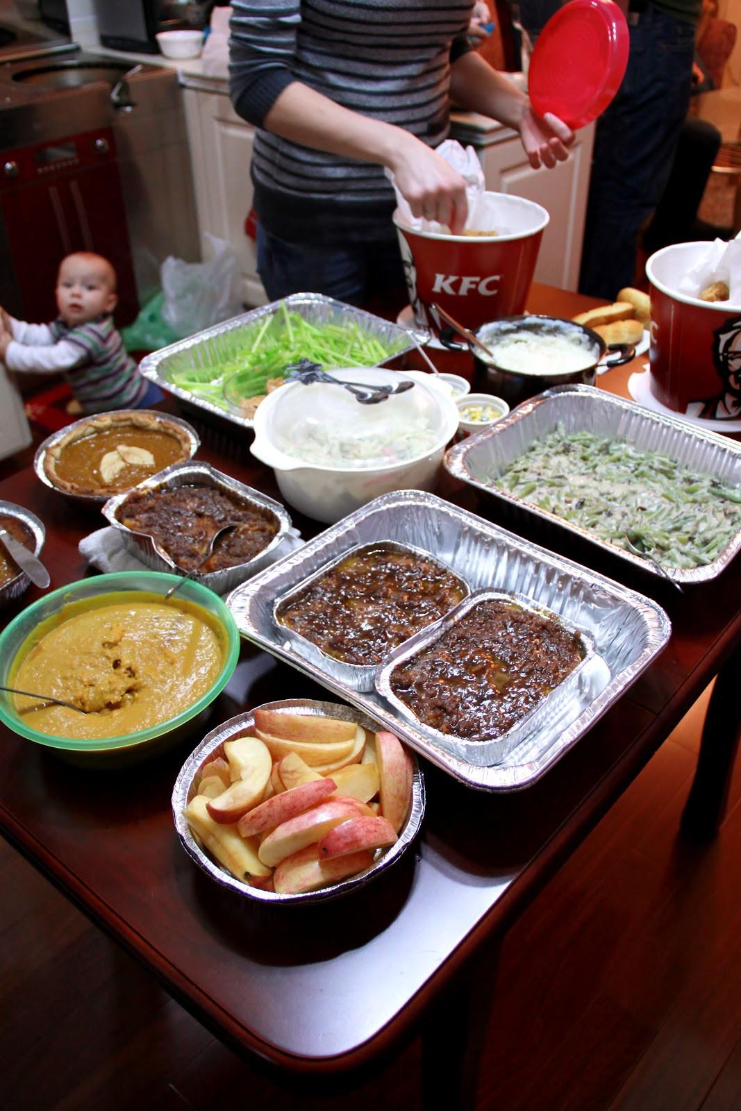 Kfc Thanksgiving Turkey  The Bowen Buzz Adventures of Us Happy Thanksgiving Pass