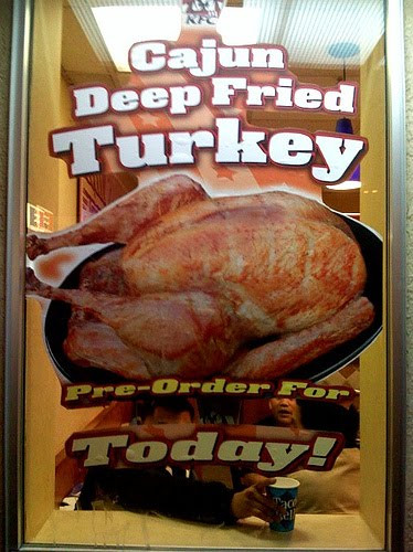 Kfc Thanksgiving Turkey  Not bad meaning bad but bad meaning good Frieday