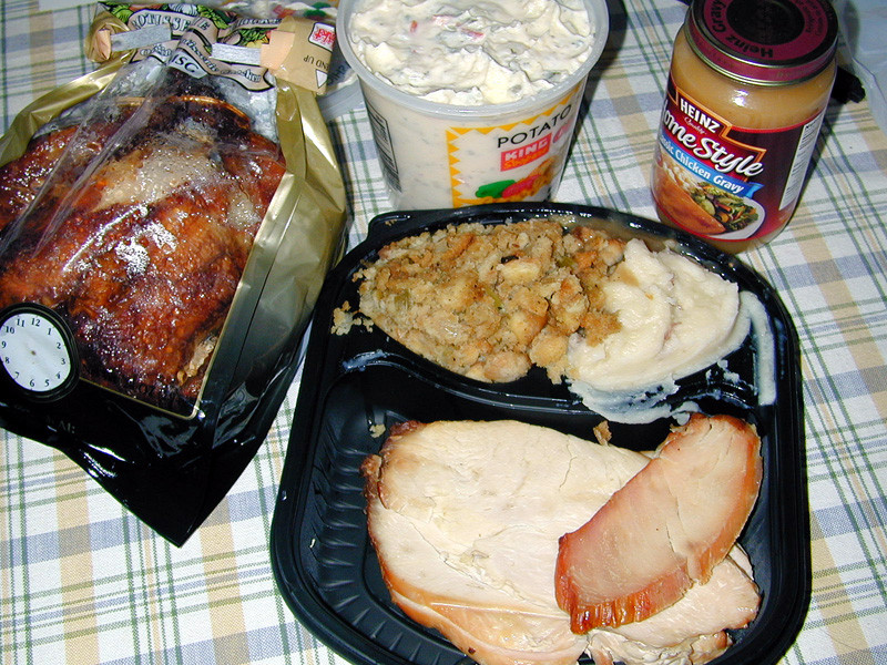 King Soopers Thanksgiving Dinners  Thanksgiving time Nov 2004