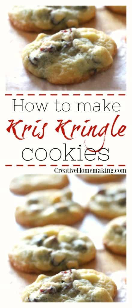 Kris Kringle Christmas Cookies  Kris Kringle Cookies Creative Homemaking