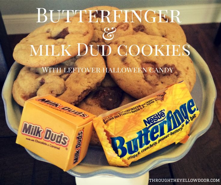 Leftover Halloween Candy Cookies  25 best ideas about Milk duds on Pinterest