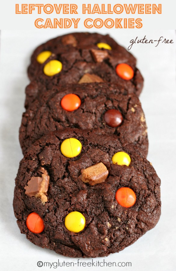 Leftover Halloween Candy Cookies  Gluten free Halloween Candy Cookies