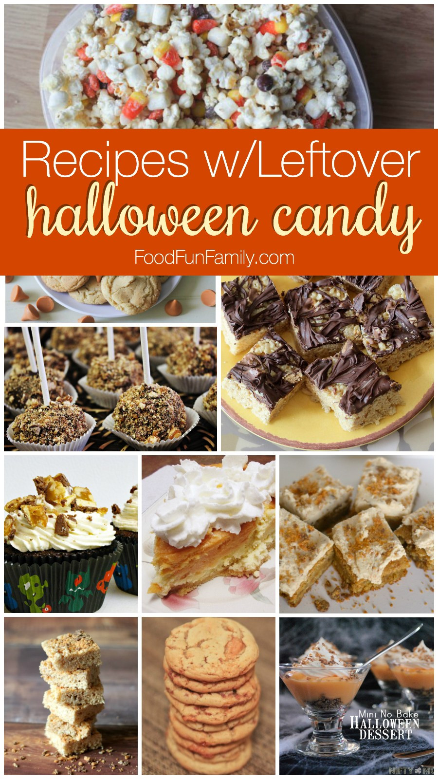 Leftover Halloween Candy Recipes  Leftover Halloween Candy Recipes and Crafts