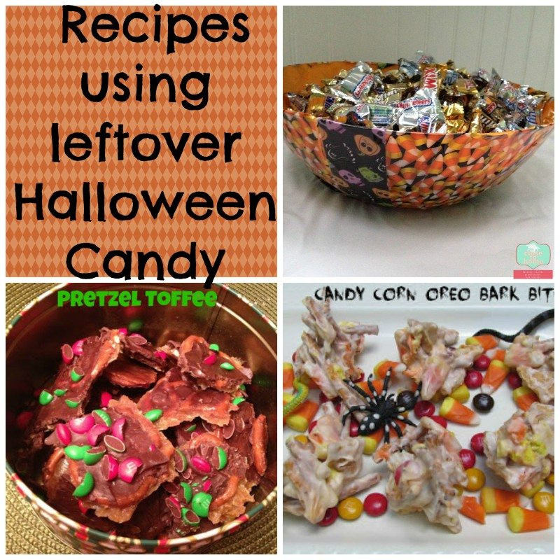 Leftover Halloween Candy Recipes  Leftover Halloween Candy Recipes