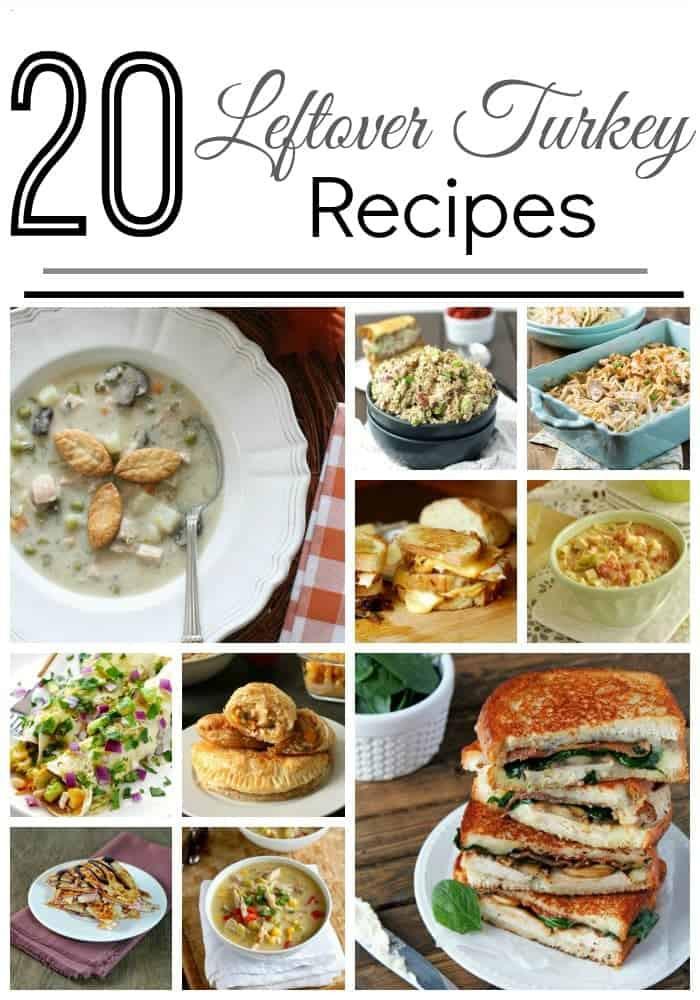 Leftover Thanksgiving Turkey Recipes  Leftover Turkey Recipes • The Pinning Mama