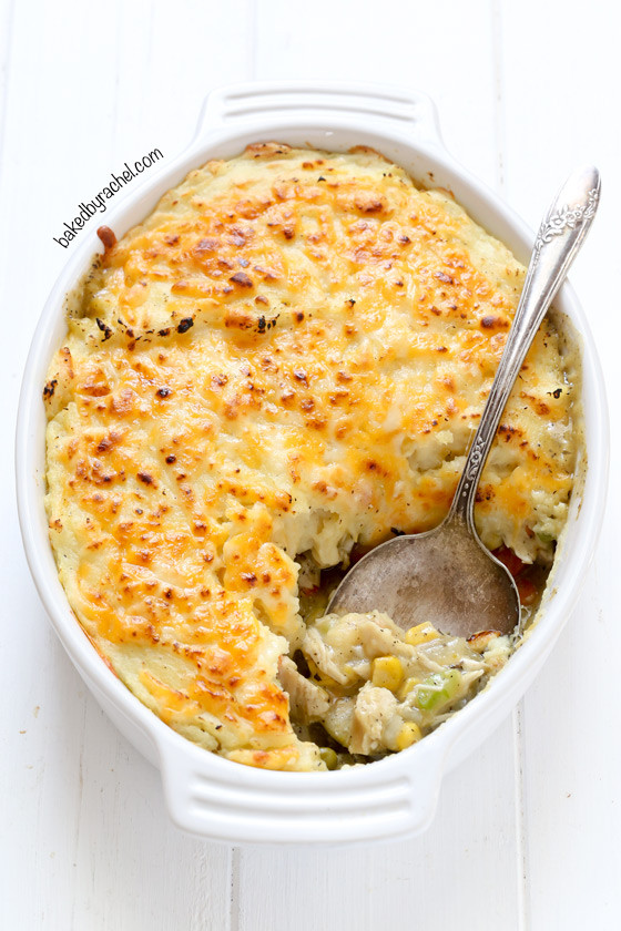 Leftover Thanksgiving Turkey Recipes  Baked by Rachel Leftover Thanksgiving Turkey Shepherd's Pie