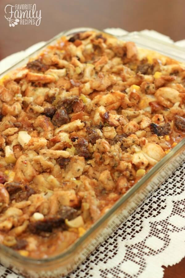 Leftover Thanksgiving Turkey Recipes  Thanksgiving Leftover Casserole