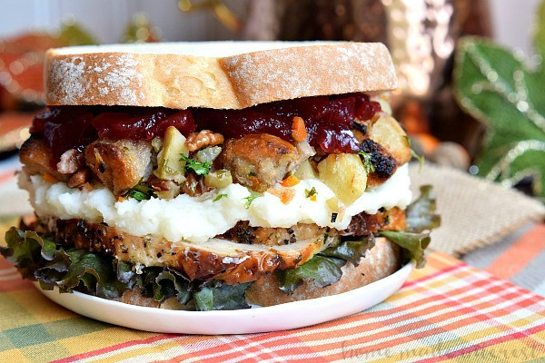 Leftover Thanksgiving Turkey Recipes  Thanksgiving Leftovers Sandwich Home Made Interest