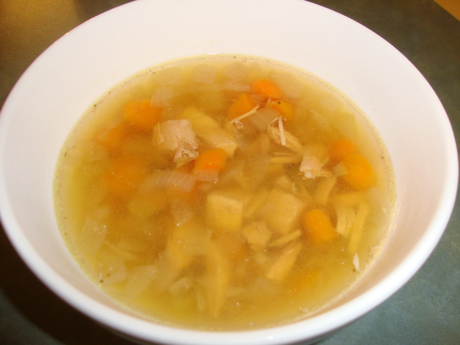Leftover Thanksgiving Turkey Soup  A Busy Mom s Slow Cooker Adventures Leftover Turkey Soup