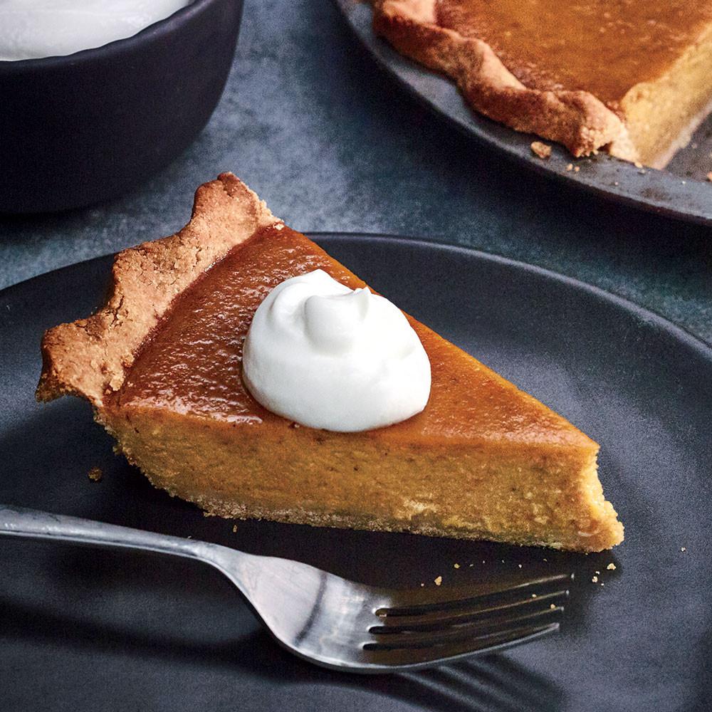 Light Thanksgiving Desserts  Pumpkin Pie Recipes Cooking Light