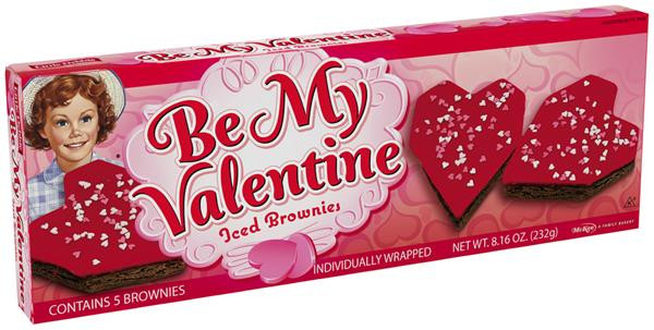 Little Debbie Christmas Tree Brownies  Little Debbie Be My Valentine Iced Brownies 5 Count