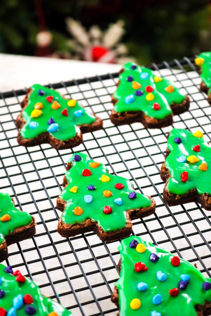 Little Debbie Christmas Tree Brownies  Copycat Little Debbie Christmas Tree Brownies Big Bear s