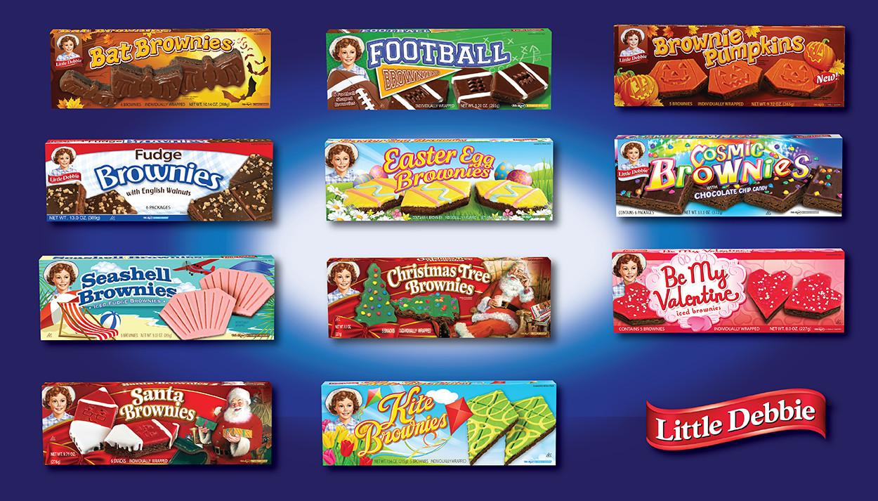 Little Debbie Christmas Tree Brownies  Blog