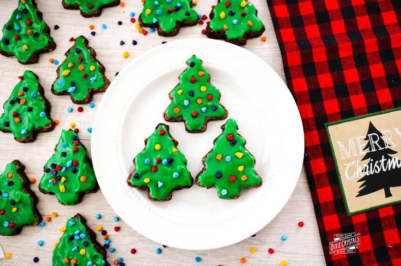 Little Debbie Christmas Tree Brownies  Copycat Little Debbie Christmas Tree Brownies